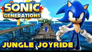 getlinkyoutube.com-Sonic Generations Unleashed Project - (1080p) Jungle Joyride