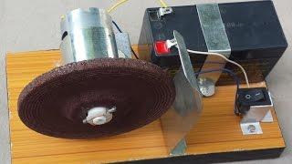getlinkyoutube.com-How to make a KNIFE SHARPENER / Powerful Grinding Machine (Portable)