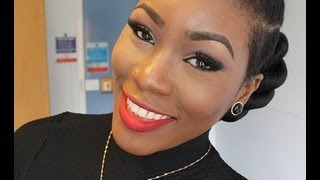 Video response: Faux haux twisted updo tutorial