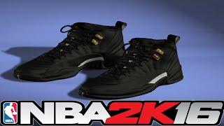 getlinkyoutube.com-NBA 2K16 Shoe Creator - Jordan 12 Master (ReUp) ⋆#NBA2K16⋆
