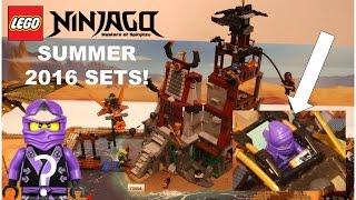 getlinkyoutube.com-LEGO Ninjago SUMMER 2016 Sets Pictures!