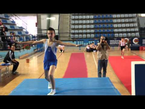 Andrea Schina - Campionato Nazionale di Ginnastica Artistica 2013