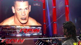 "getlinkyoutube.com-Seth Rollins has a heated war of words with ""John Cena"": Raw, Aug. 10, 2015"