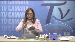 getlinkyoutube.com-Pintando Resinas , Envelhecimento , Douração