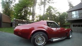 1975 corvette stingray 350 L48,4 speed, hooker headers side pipes