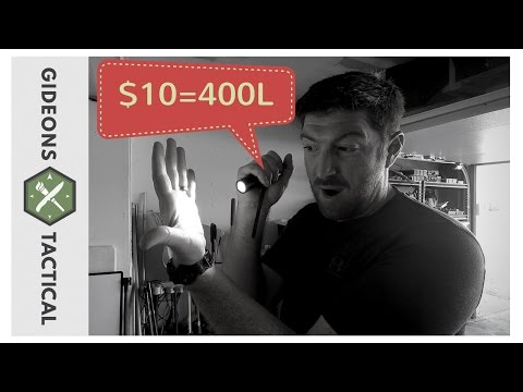 $10 Flashlight Has 400Lumens: Anker LC40 Flashlight