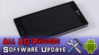 Aktualizacja Instalacja Androida LG L9 G4 G3 Wszystkie modele KDZ  Software Update All LG Upgrade