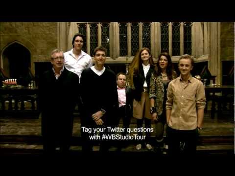 Warner Bros. Studio Tour London - The Making of Harry Potter - Cast Web Chat