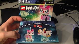 getlinkyoutube.com-LEGO DIMENSIONS UNIKITTY and CLOUD CUCKOO CAR UNBOXING and BUILD