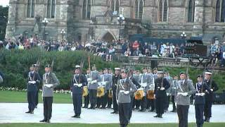 getlinkyoutube.com-German Army Band & Drill Team ( Fortissimo ) on Parliament Hill in Ottawa on 20120811 2/6
