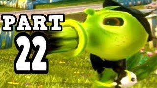 getlinkyoutube.com-Plants vs Zombies Garden Warfare - Agent Pea - Gameplay