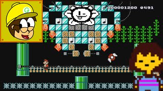 Undertale Flowey Battle - Super Mario Maker