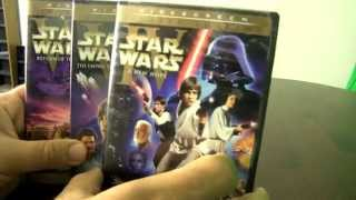 getlinkyoutube.com-Star Wars on Blu-Ray Unboxing & Other Home Movie Versions