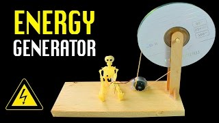 getlinkyoutube.com-Homemade Power Generator | DIY Free energy Generator.