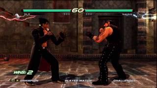 getlinkyoutube.com-Tekken 6 Paul Phoenix vs Devil Jin & Jin Kazama Matches #3 7/18/11