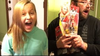 getlinkyoutube.com-TORMENTING MY KIDS WITH WWE FIGURES ON THE CHRISTMAS TREE!