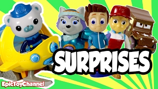 getlinkyoutube.com-Octonauts Disney Surprise Deliver Paw Patrol, Blaze & Slither.io Surprise Toys by EpicToyChannel