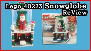 getlinkyoutube.com-lego 40223 snowglobe 레고 40223 스노우 글로브 리뷰