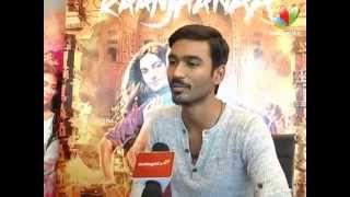 "Sonam describes Dhanush as a ""soft spoken and down to earth"" person 