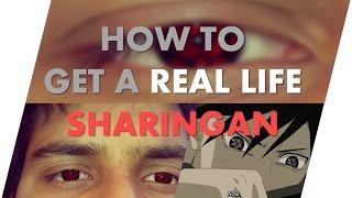 getlinkyoutube.com-How To Get A Real Life Sharingan