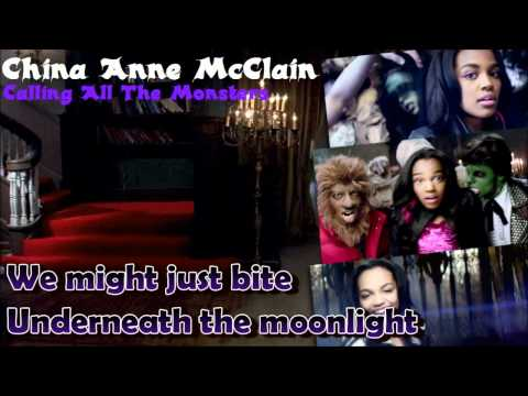 "[HD] China Anne McClain - ""CALLING ALL THE MONSTERS"" - Karaoke/Instrumental"