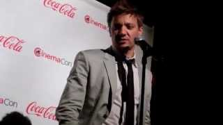Jeremy Renner Interview - Bourne Legacy at CinemaCon - YouTube