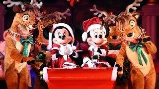 NEW Show! Mickey's Most Merriest Celebration at Mickey's Very Merry Christmas Party 2016