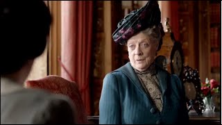 getlinkyoutube.com-The Dowager Countess' Finest Burns on Downton Abbey