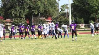 Compton Vikings vs Crenshaw Colts Jr  Pee Wee