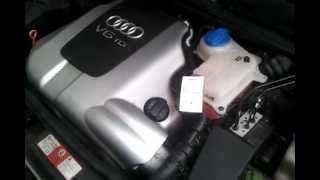 getlinkyoutube.com-Audi A6 2,5 TDI V6 ---Kaltstart / Cold Start -- 644.000KM