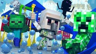 getlinkyoutube.com-Minecraft | Morph Hide and Seek - Baby Monsters Mod! (Atlantis Roleplay)