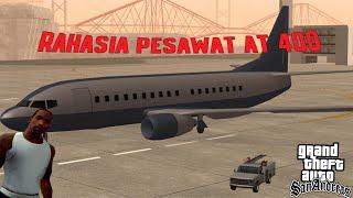 GTA SAN ANDREAS RAHASIA PESAWAT BESAR BOEING 777 KOTA 3  | SALAH PARKIR