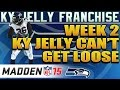 Madden NFL 15 Connected Franchise Mode Speed RB KY Jelly Just Cant Get Loose
