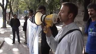 (28 sept.2007) Protest Hyde Park pentru Lustrație!