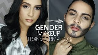 Gender Makeup Transformation