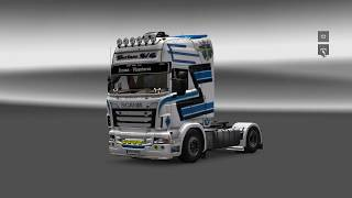 getlinkyoutube.com-Euro Truck Simulator 2-Customization Scania R