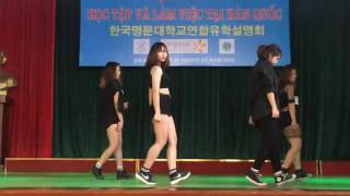 getlinkyoutube.com-HaUI club AAC: Nhảy hiện đại k9 ( giao lưu ĐH Hàn Quốc)