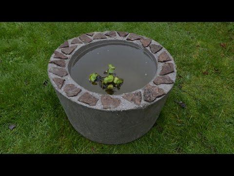 Concrete Guppy Tub 2015