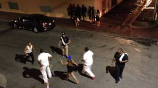 getlinkyoutube.com-Ocean Drive Street Fight, Oct 10, 2016