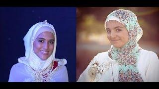 getlinkyoutube.com-امينة كرم و ديمة بشار من الاكثر اناقة بالحجاب ؟