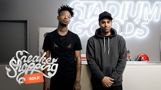 getlinkyoutube.com-Sneaker Shopping With 21 Savage | Complex