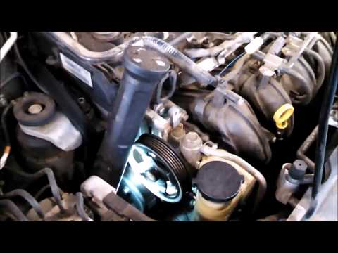 Thermostat replacement 2005 Mazda 6 2.3L Install Remove Replace How To Change