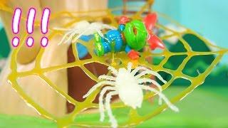 getlinkyoutube.com-흉폭한 공룡 불량크롱의 최후 3D 매직펜 ★뽀로로 장난감 애니 캐릭온 TV