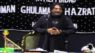 getlinkyoutube.com-Allama Nasir Abbas of Multan - Shahadat Majlis Bibi Fatima Zahra (s.a.) - Northampton - 5th May 2013