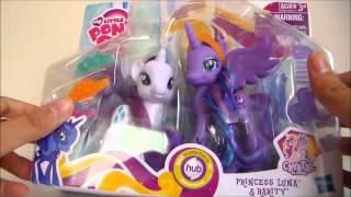 getlinkyoutube.com-MLP Princess Luna and Rarity Set