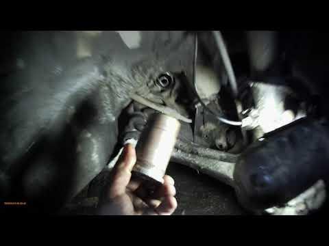 ACURA RDX Хонда CR-V замена втулки рулевой рейки
