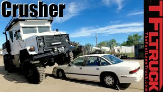 Military M923 5 Ton 6x6 Car Crusher: The Affordable Zombie Apocalypse Truck ( Part 3 )