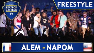 getlinkyoutube.com-Alem & Napom - Winner Freestyle - 4th Beatbox Battle World Championship