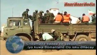 Ciidamada badda ee Jabuuti iyo kuwa Somaliland Oo isku Dhacay