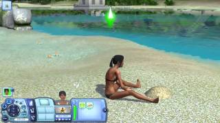 [HD] Fucking Lifeguard ! Sims 3 Island Paradise